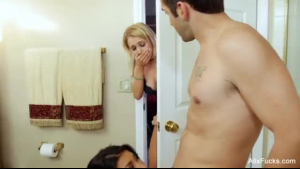 Alix Lynx and Max workers rides with a threesome