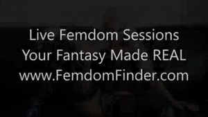 Femdom slut with the most intense domination on man